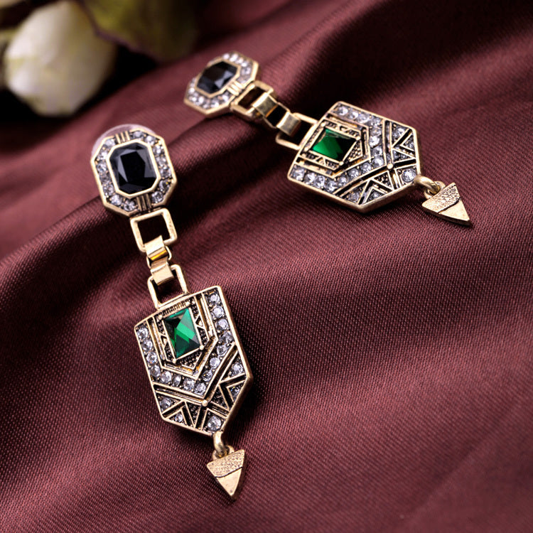 Vintage Elegant Luxury Beautiful Earrings Fashion