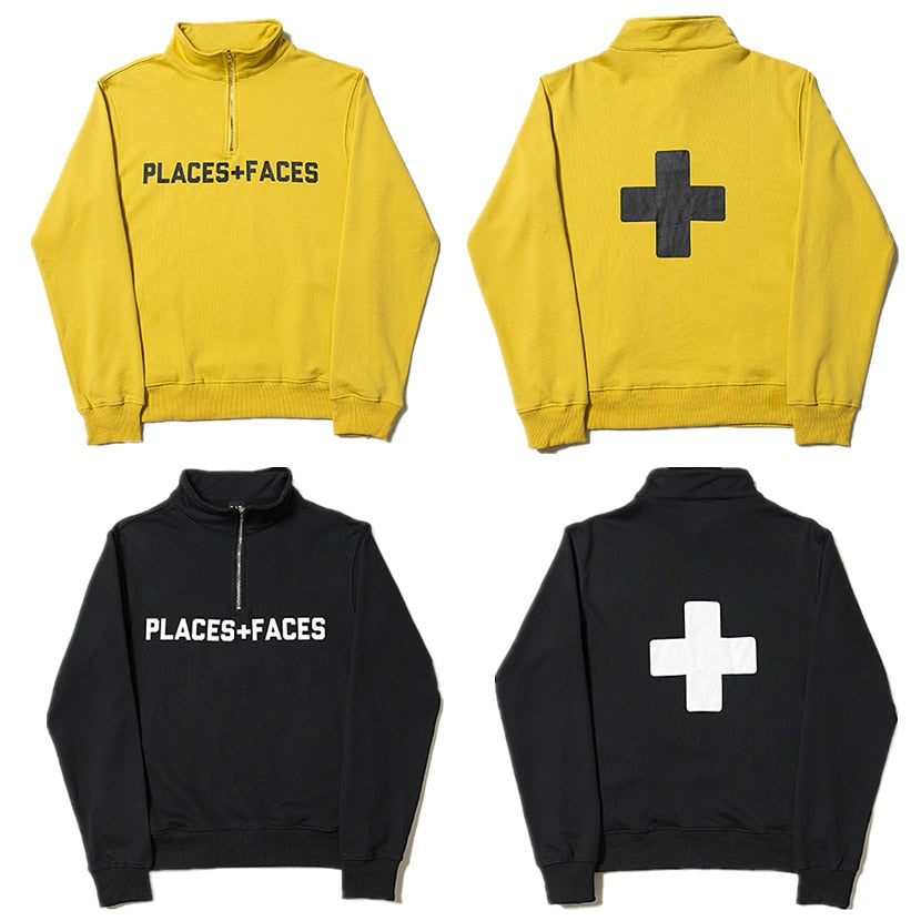 Places + Faces Neck Fleece