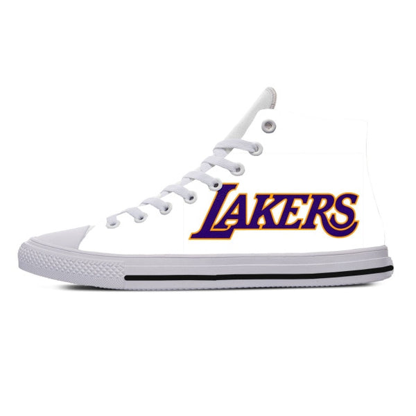 Lakers High Top Sneakers