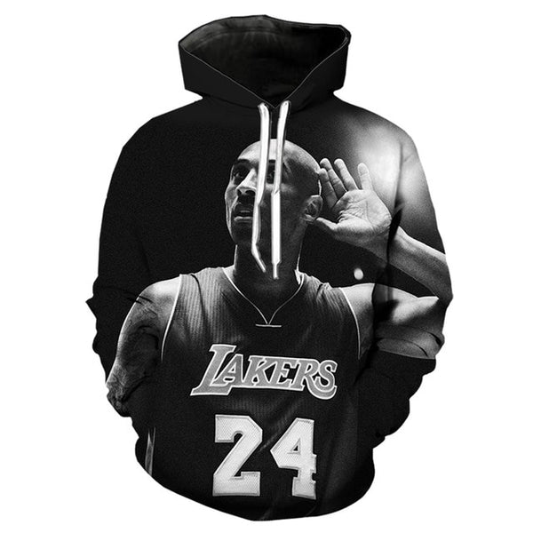 new kobe bryant t shirt men 3d print sweatshirt/hoodie/pants harajuku casual shorts funny streetwear hip hop black white t-shirt