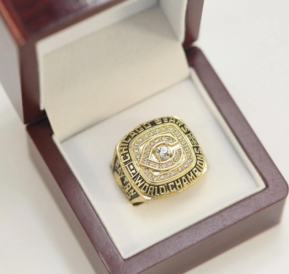 1985 Chicago Bears Walter Payton Champion Ring (Replica)
