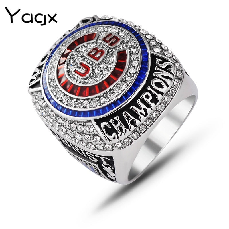 Hot Selling 2016-2017mlb Chicago Cubs Championship Ring Men Accessories Rings