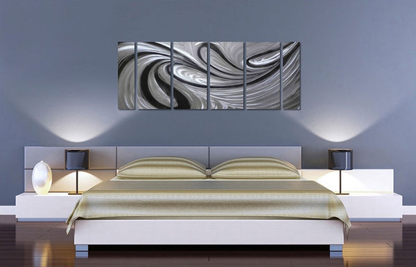 Metal Aluminum Wall  Abstract Painting