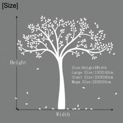 Giant Family Tree Wall Sticker