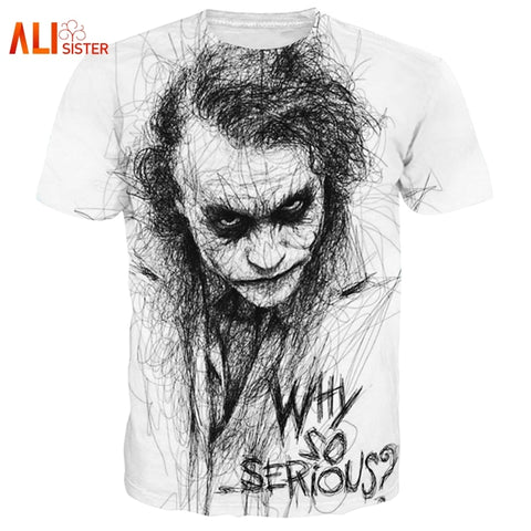 Joker - Why So Serious  T Shirt