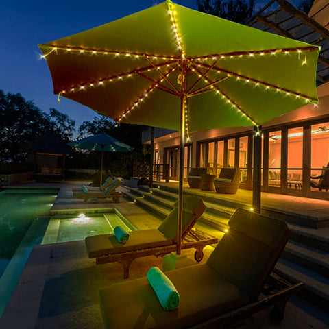 Patio Umbrella LED Light Strings