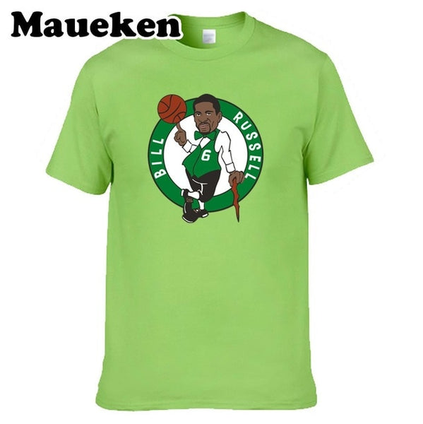 Boston Celtics Bill Russell 11 Rings Champions T-shirt