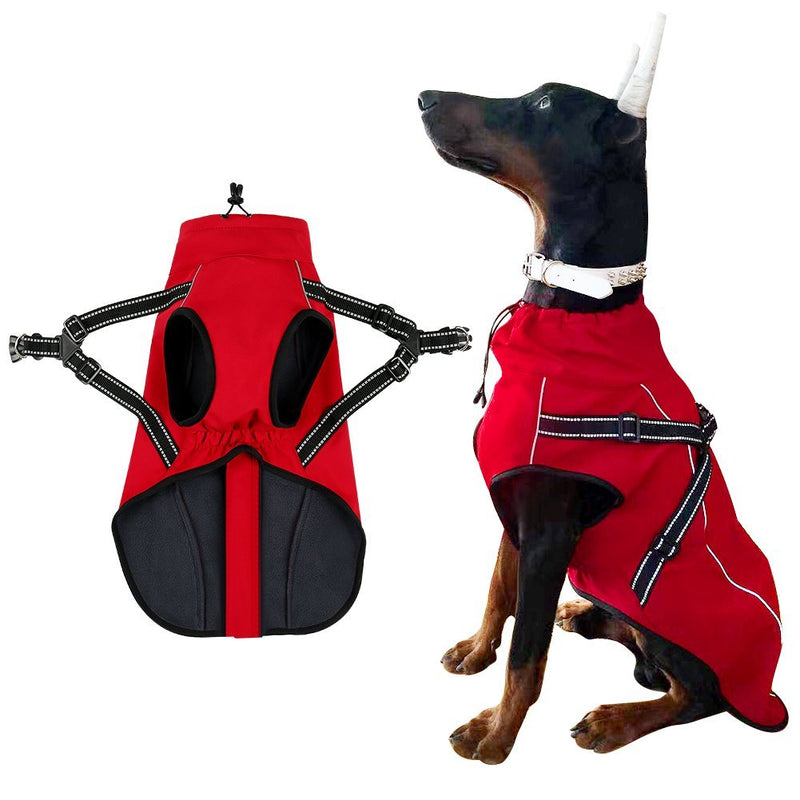 Hero Dog Dog coat with reflective piping