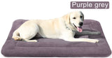 Large Dog Bed Crate Mat Washable Pet Beds Soft Dog Mattress Anti-Slip Kennel Mats