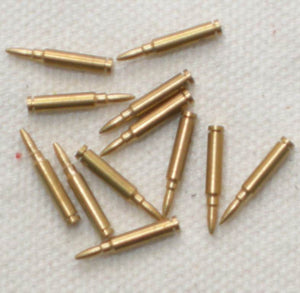 U.S. - Ammo - Garand (set of 12 spent casings)