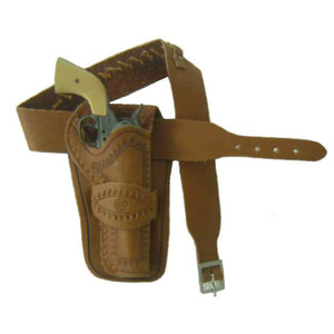 Western - Tooled Holster 2 (russet leather)