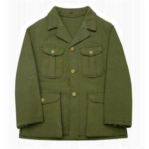 Tunic - Japanese Marine (olive/brown)