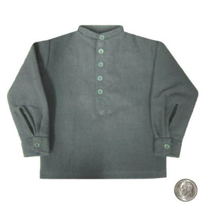 Civil War - Band Collar Shirt (Federal Blue)