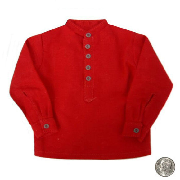 Civil War - Band Collar Shirt (red)