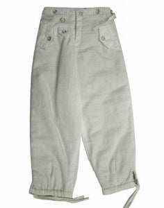 Gebirgsjager Trousers - Reversible (white /fg)