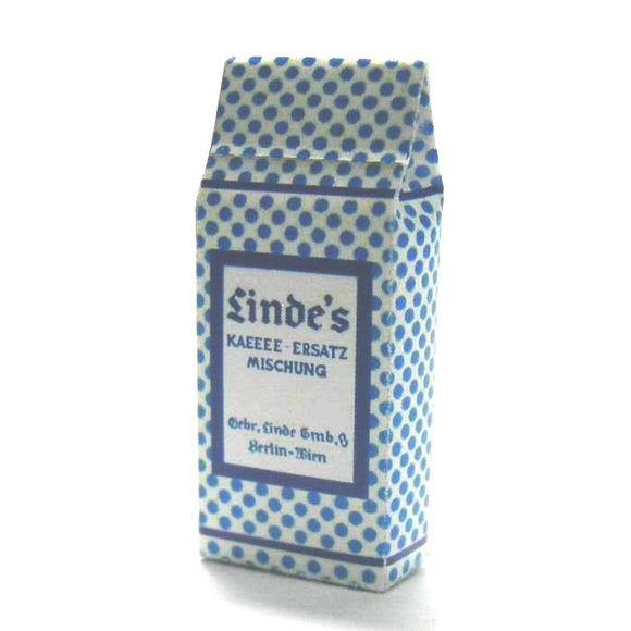 Coffee Bag  (blue & white paper)