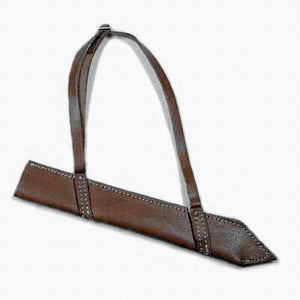 Chinese- Chopper Sheath (brown leather)