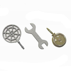 German - MG Repair Box Tools (scope, wrench . oil can)