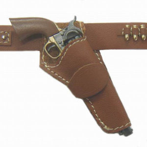 Western - Hollywood Fastraw Holster (russet)