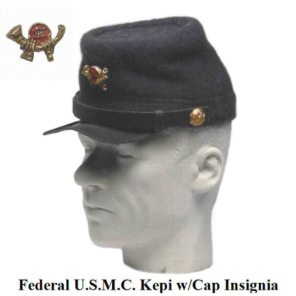 Civil War - Kepi - (USMC w/cap badge)