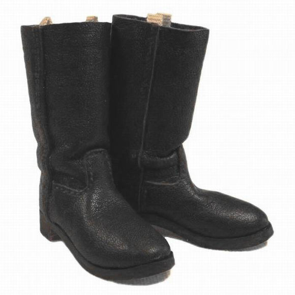 WWI - German Boots  (black leather)