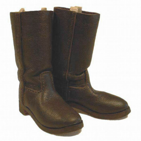 WWI - German Boots (brown leather)