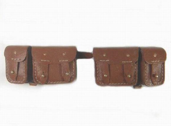 French - WWII Ammo Pouches(russet)