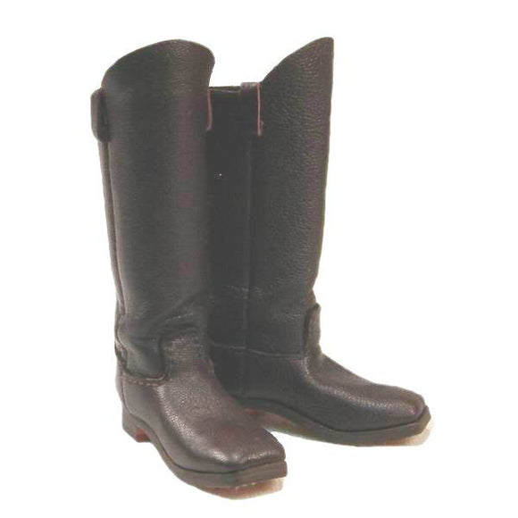 Civil War - Cavalry Boots (brown leather)