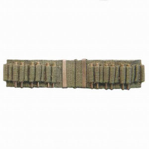 Spanish-American War - U.S. Mills Cartridge Belt (khaki w/ C clasp)