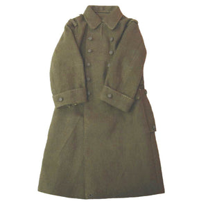 French - WWII NCO Greatcoat (olive/brown)