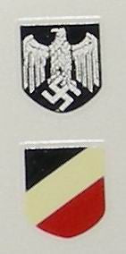 German - Helmet Decal