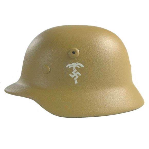 German - M35 Helmet DAK With Leather Liner