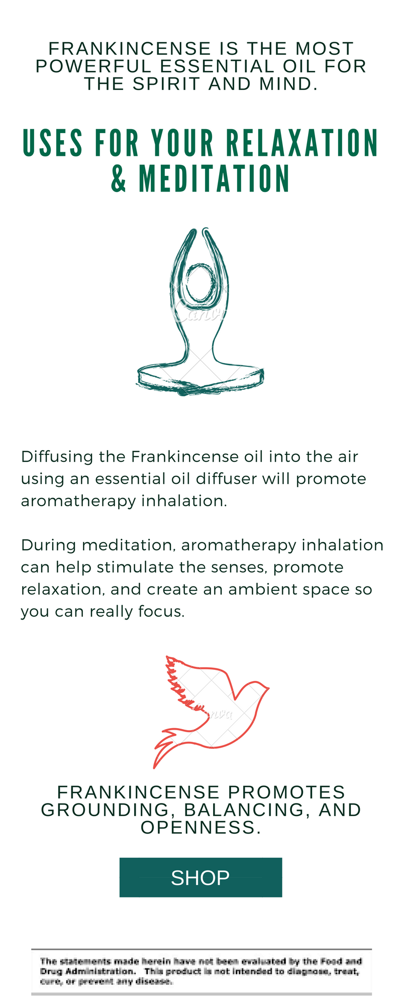 Use Frankincense Oil For Spiritually, mediation and relaxation