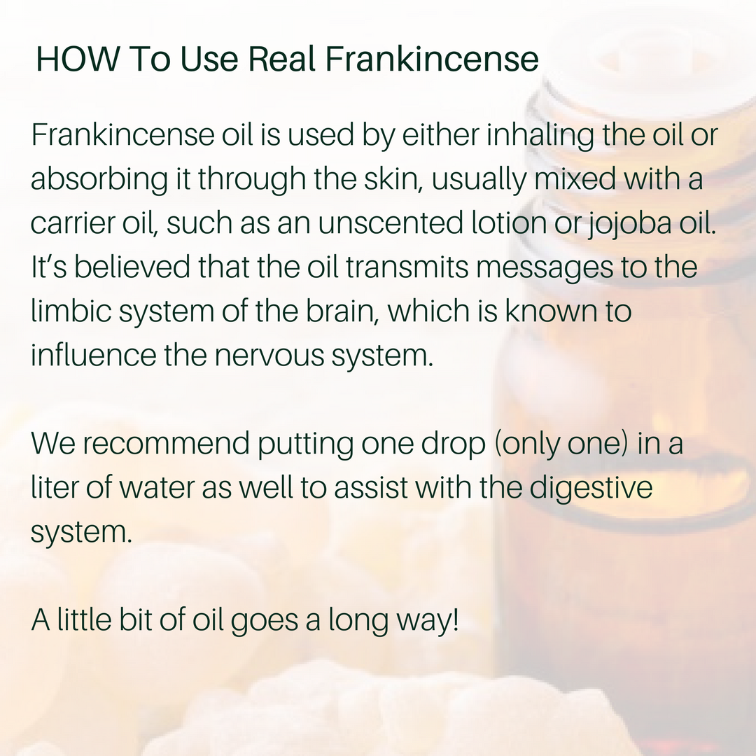 Real Frankincense Essential Oil Combo Pack 30ml, 15ml & 5ml