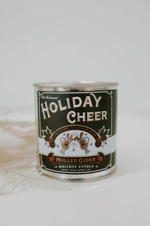 Good + Well Supply: Holiday Cheer Mulled Cider Candle