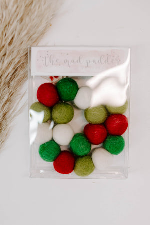 Joyful Wool Felt Garland