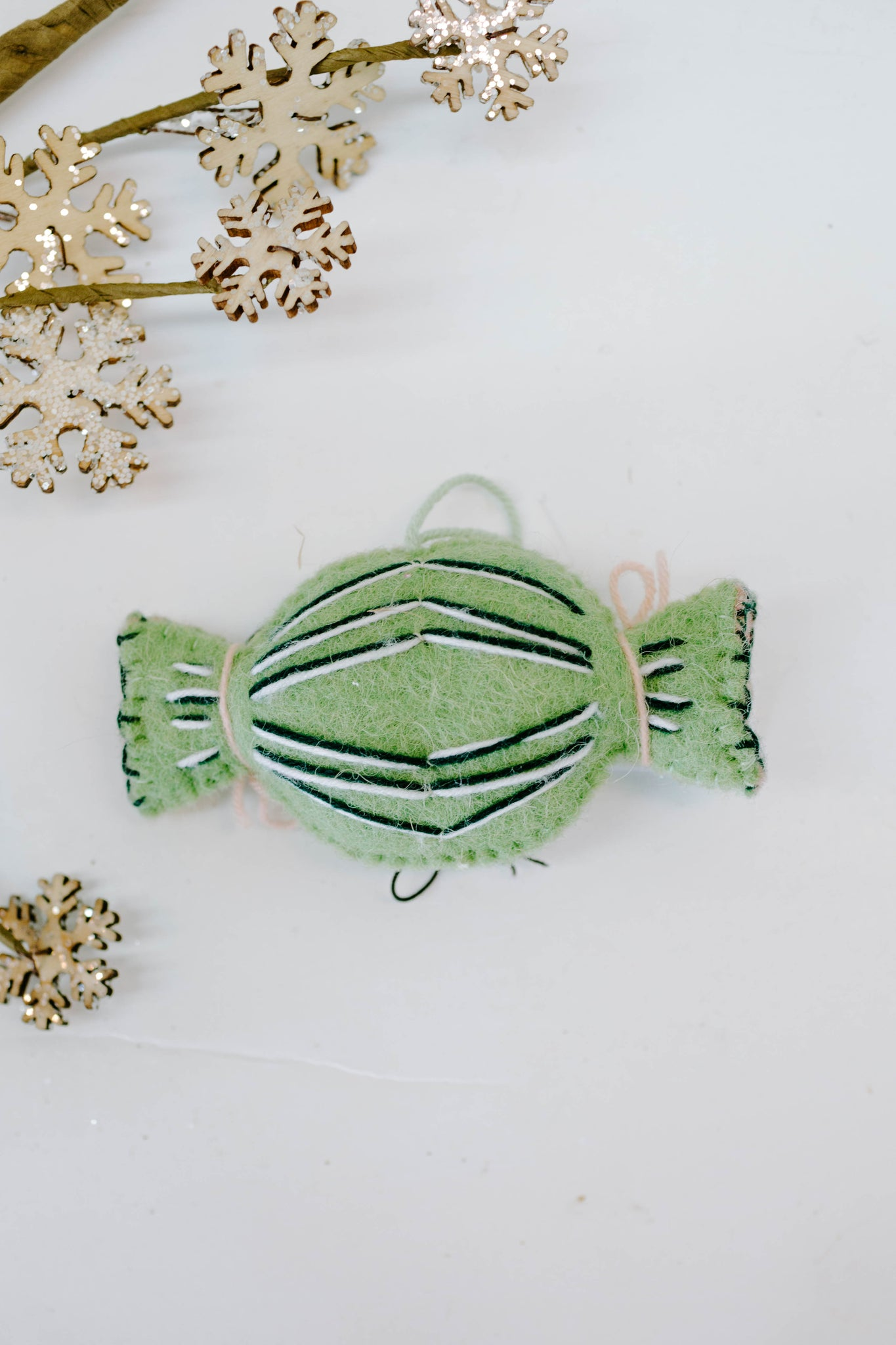 Wool Candy Ornament