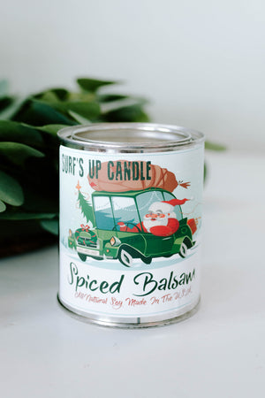 Surf's Up Candles: Spiced Balsam