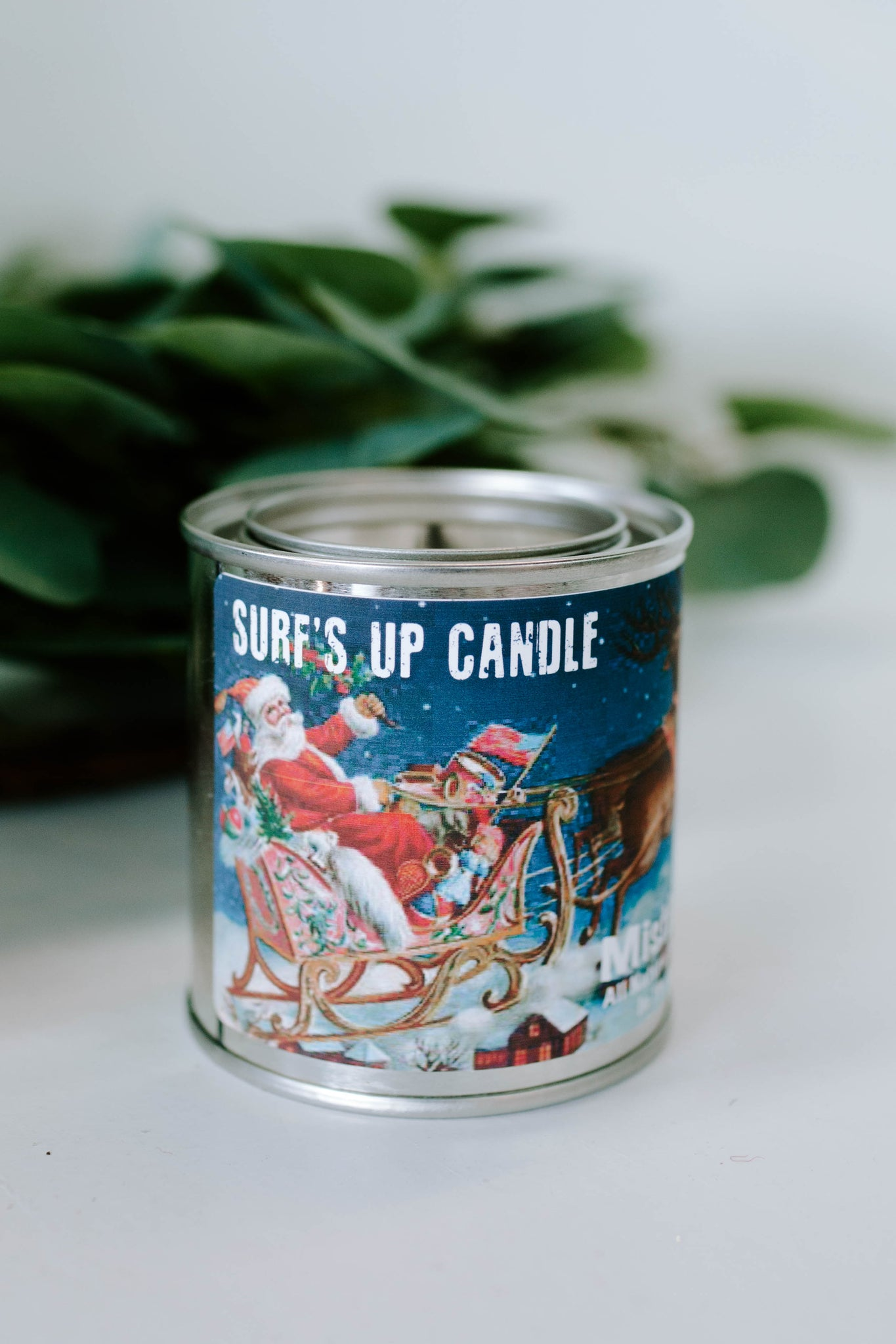 Surf's Up Candles: Jolly Old St. Nicholas