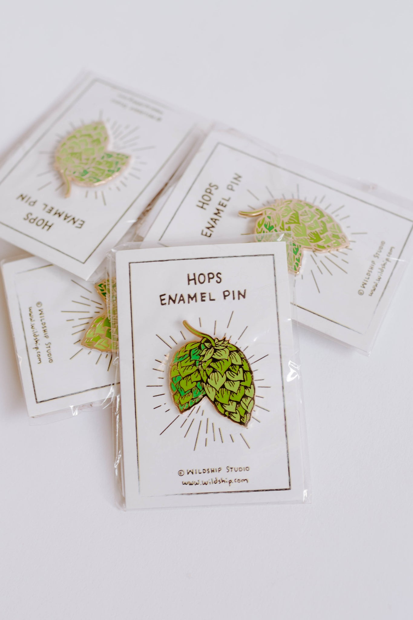 Hops Enamel Pin