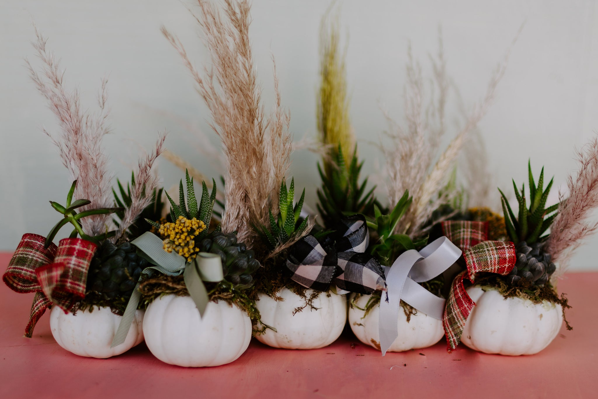 Miniature Pumpkin Arrangements