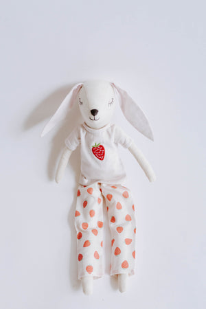 Strawberry Patch Pajama Bunny