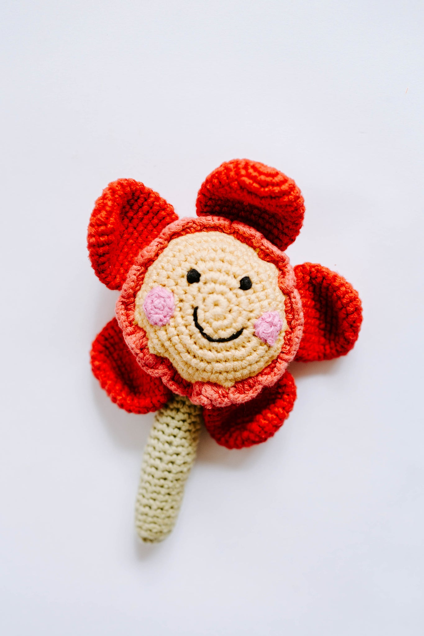 Flower Rattle Friendly