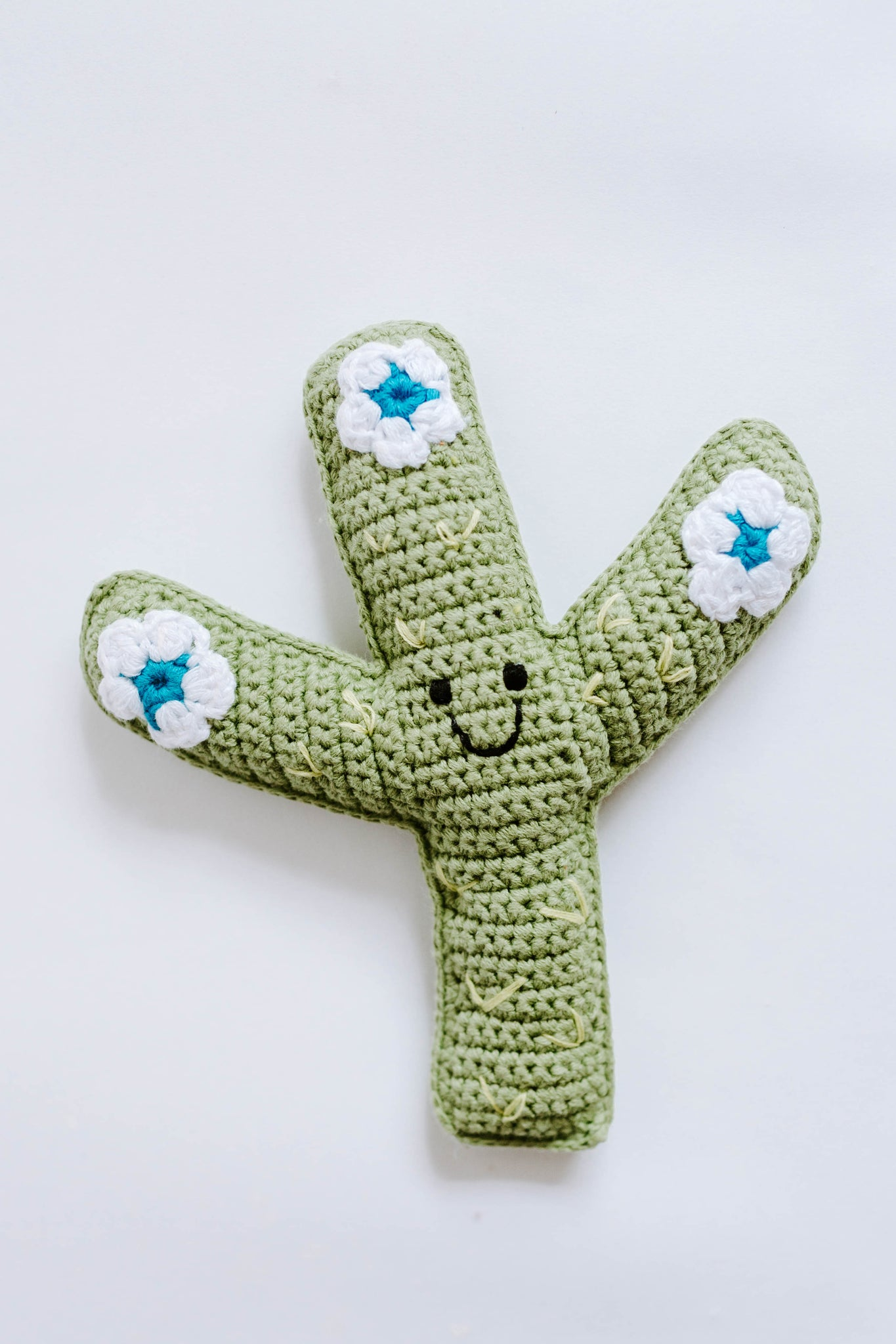 Cactus Buddy Rattle Deep Green - Friendly