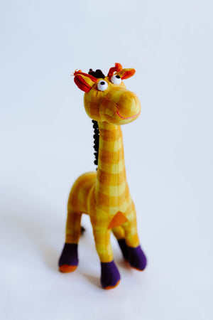 Fabric Plush Giraffe