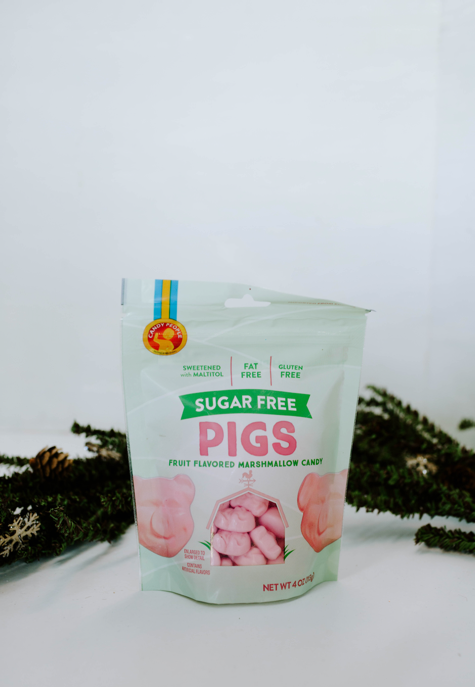 Sugar Free Pigs Marshmallow Candy