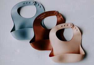 Parker Silicone Baby Bibs