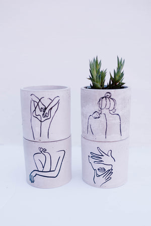 Abstract Face Planter