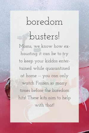 Boredom Busters: Sugar and Spice!