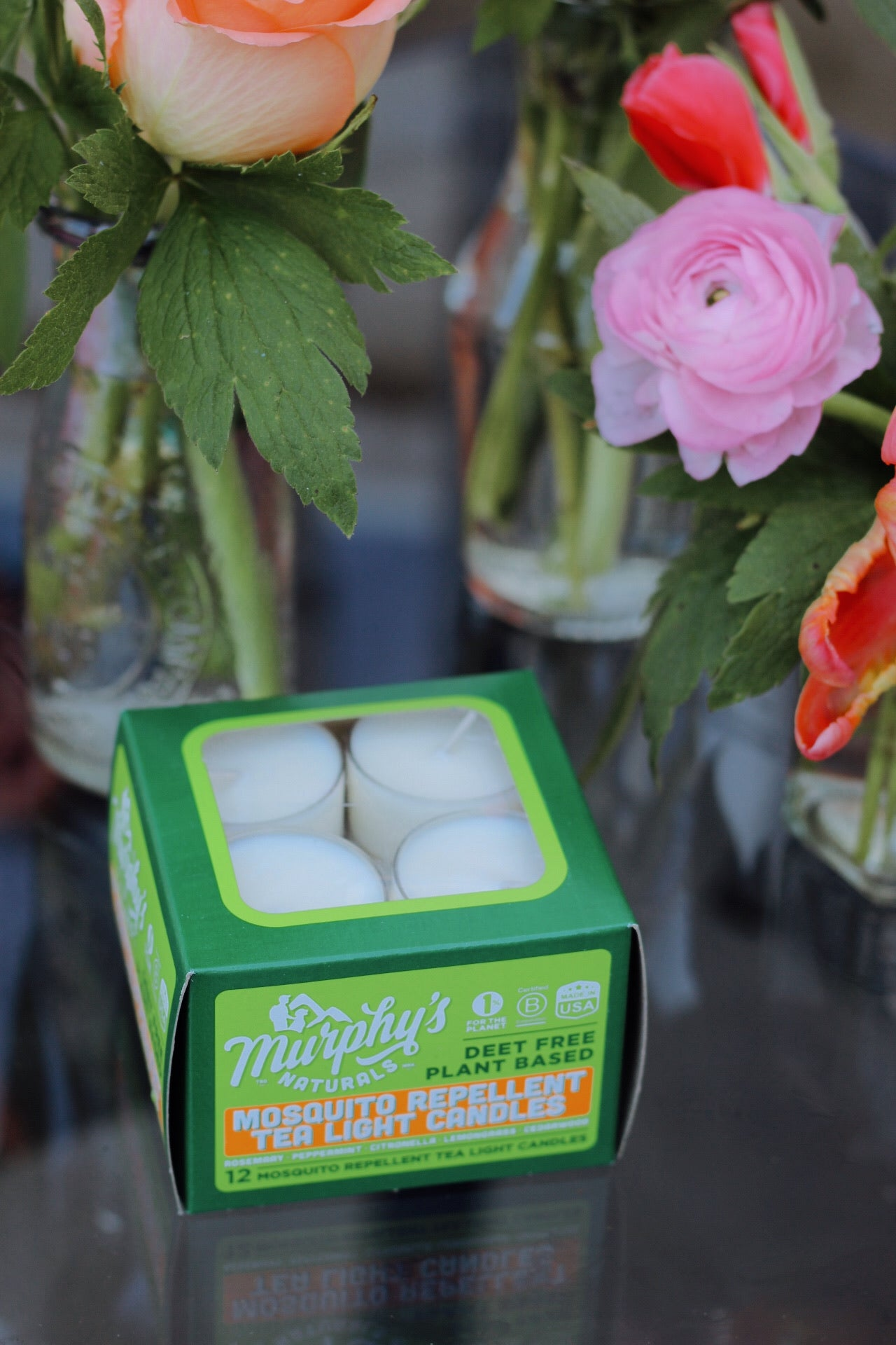 Murphy's Naturals | Mosquito Repellent Tea Light Candles
